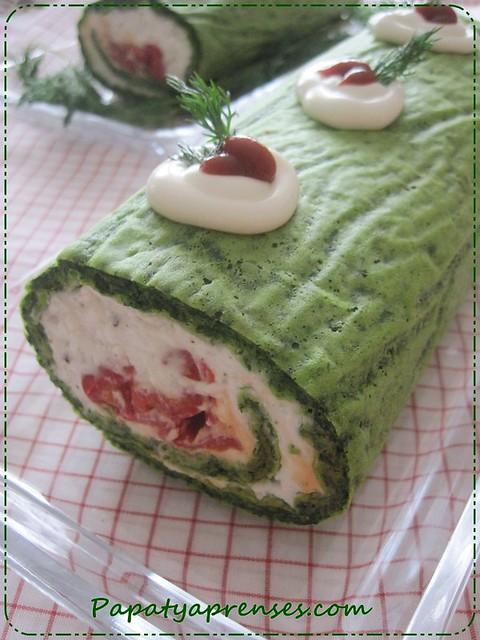 ıspanaklı rulo salata (3)