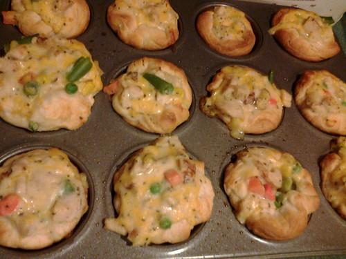 Chicken Potpie  Cupcakes 1