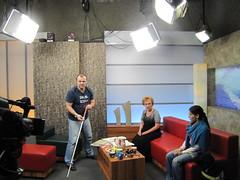 Brněnská televize pozvala do studia brněnské TyfloCentrum, 19. 2. 2013 - fotogalerie na Flickru