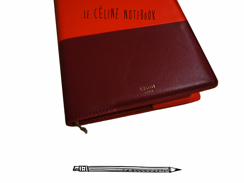celine notebook