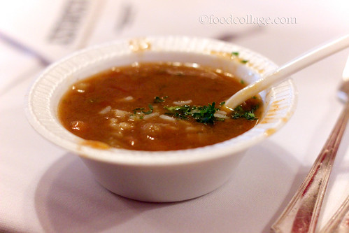 Gumbo Sample at Antoine's Restaurant (New Orleans)
