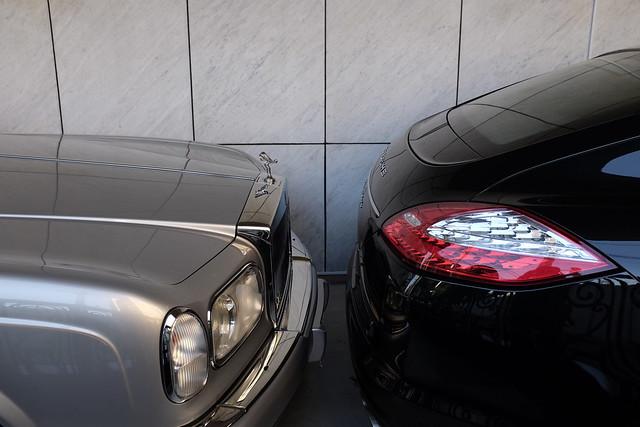 20130302_FUJIFILM X100S撮影体感セミナー_31_Rolls-Royce SILVER SERAPH&Porsche Panamera Turbo