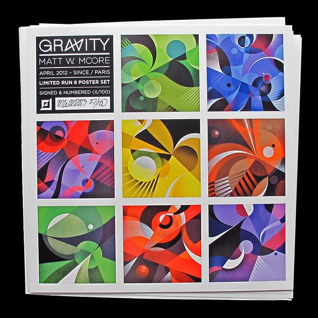Gravity Poster Set.