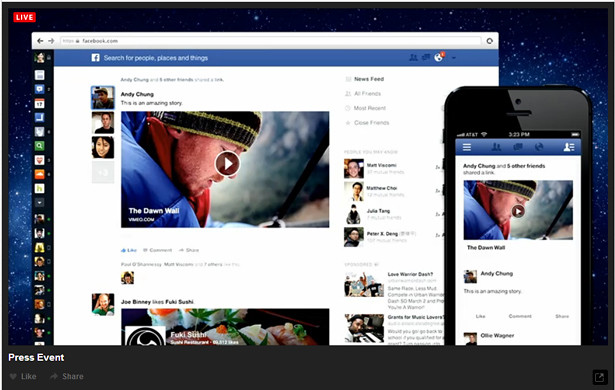 Facebook's New News Feed