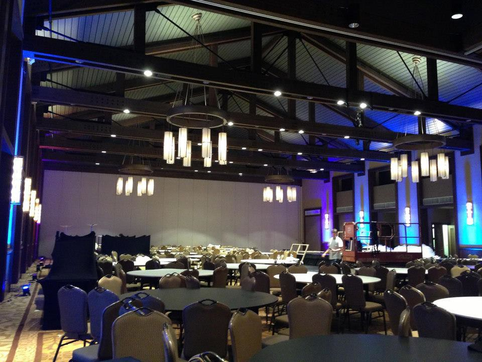 At t conference center the grand ballroom austin for Dining at at t conference center austin