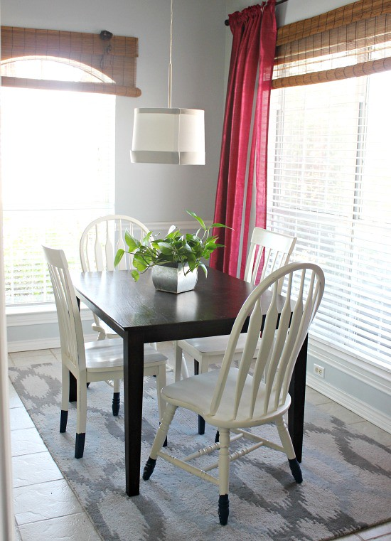Hi Sugarplum | White Breakfast Room Chairs