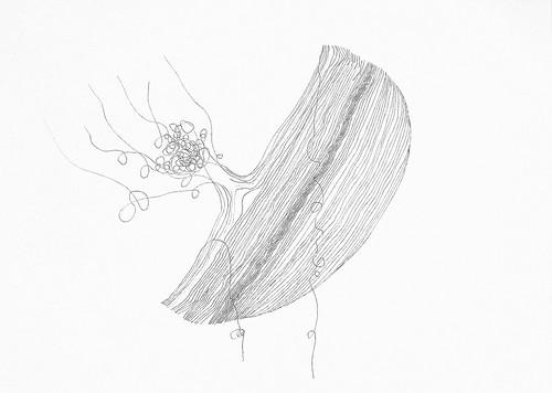 Sexto desenho a tinta da China - Singapura. 2013 by fernanda garrido