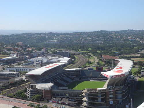 Kings Park from Moses Mabhida Stadium (by Queenie)