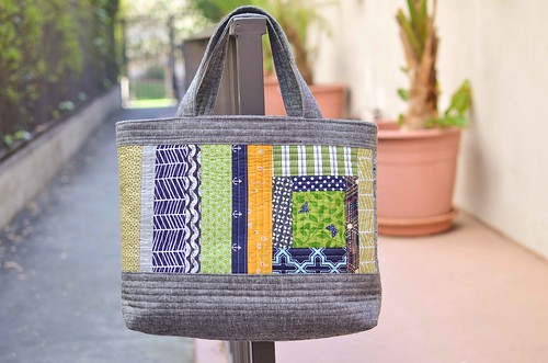 perfect quilted tote back