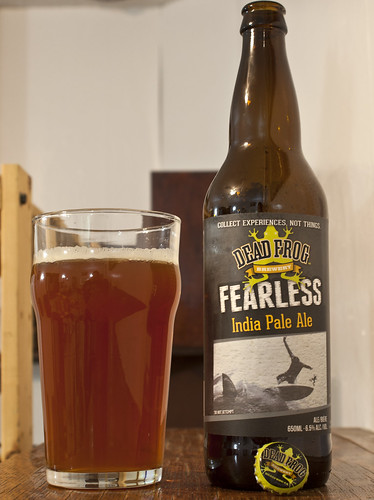 Review: Dead Frog Fearless India Pale Ale by Cody La Bière