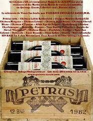 Importante subasta de vinos