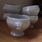 monkey egg cups from tag sale in Melville