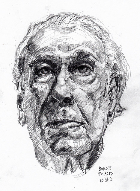 Jorge Luis Borges. for PIFAL