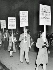 Desegregate Lisner Auditorium Pickets: 1946 # 1