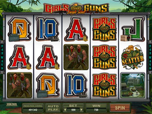 Girls With Guns - Jungle Heat Slot Machine Online ᐈ Microgaming™ Casino Slots
