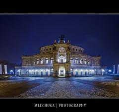 Dresden by Night - The Semperoper