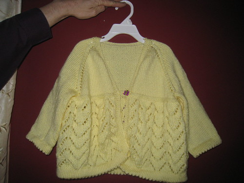 Marie-Therese's Easter sweater