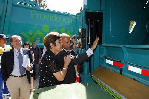 Gersa mejora la recogida de residuos en Santiago de Chile