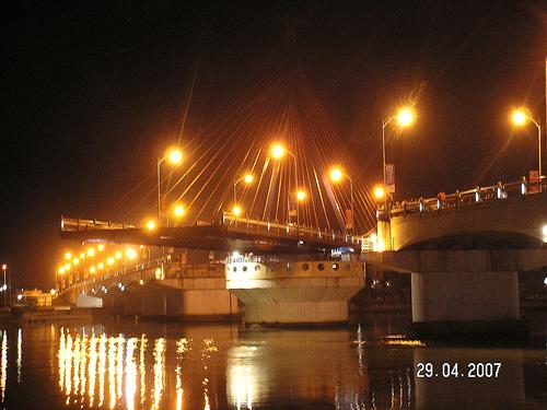 Han river bridge swung