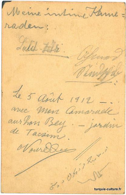 Entier postal, 1912, V°