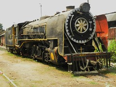 Metre Gauge steam freight locomotive class YG numbered #4367 at Badarpur Junction in NFR, India. Loco is now used for steam charter hauls