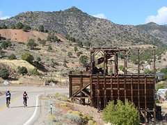 park to park pedal on the way to Pioche