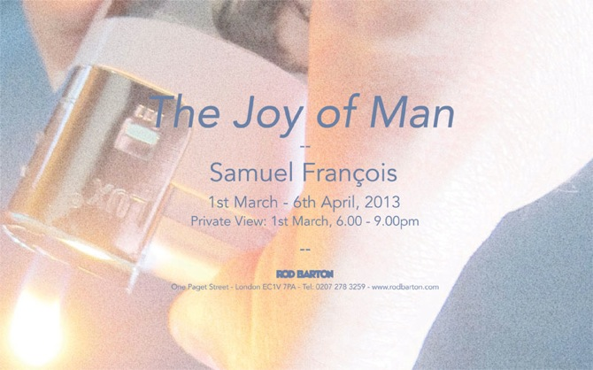 Flyer_ Samuel Francois - Joy of man - Rod Barton