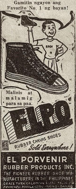 Elpo shoes ad