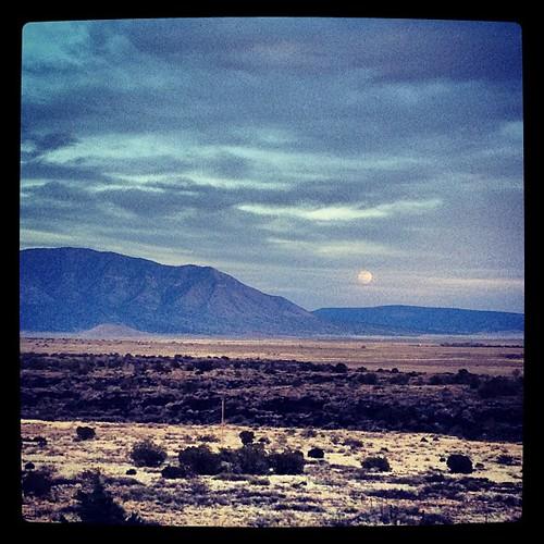 Moonrise in NM