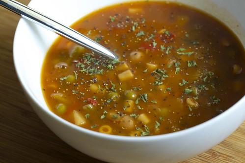 TJ's Minestrone Soup
