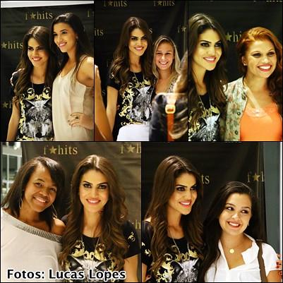 juliana leite encontro makeupbycamila #camilanorio f hits village mall blog camila coelho rio de janeiro com fans foto por lucas lopes