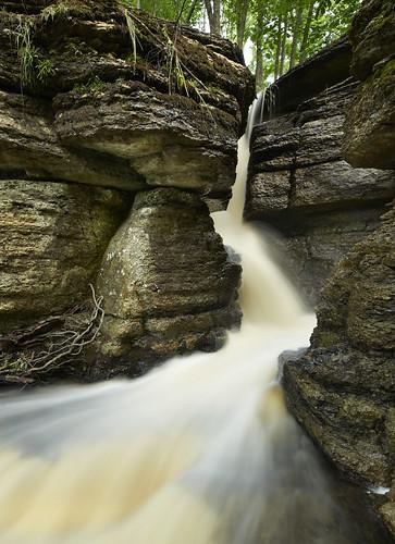 longexposure summer nature water stone stream