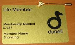 Durrell-life member