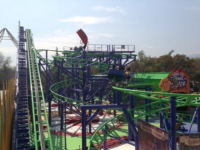 Joker at Six Flags Mexico (was Tony Hawk's Big Spin, then Pandemonium, at Six Flags Discovery Kingdom)