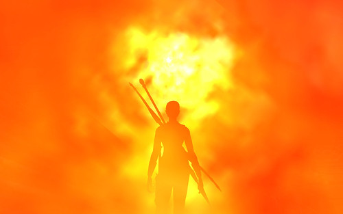 Lotro Shot - Laredhrien in the fires of Erebor