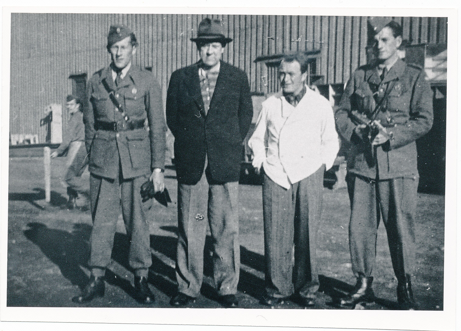 Vidkun Quisling i arrest på Akershus, 1945.