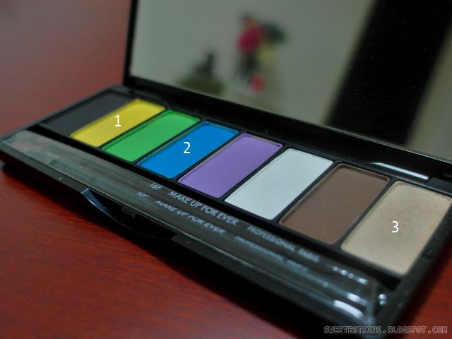 retro dnd 3_retro eye makeup for retro dnd make up for ever technicolor eye shadow palette