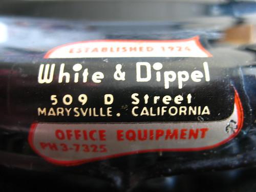 White & Dippel or Marysville CA