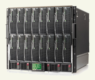 HP ProLiant BL495cG5 c7000 enclosure-ben