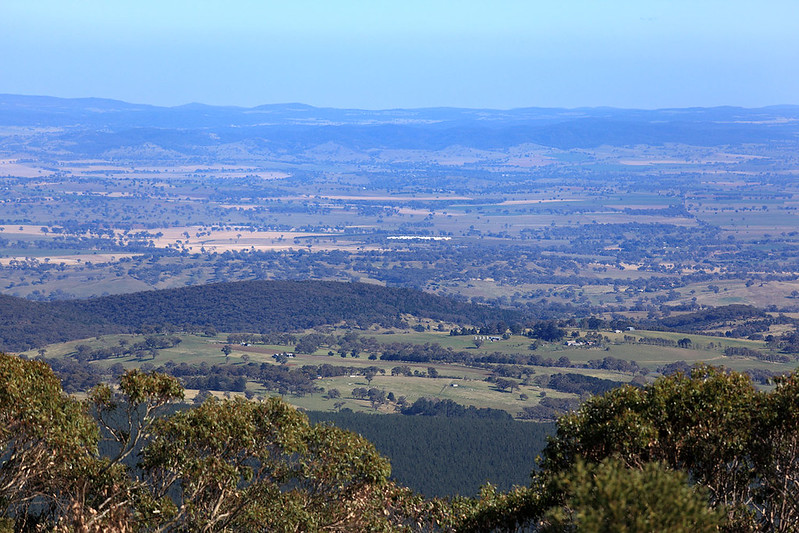 View from Mount Canobolas