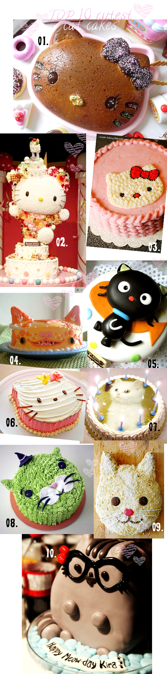 top 10 cutest cat cakes