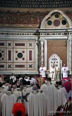Insediamento del vescovo di Roma sulla cathedra romana