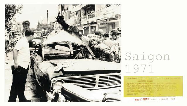 Vụ ám sát GS Nguyễn Văn Bông ngày 10-11-1971 tại góc Cao Thắng - Phan Thanh Giản