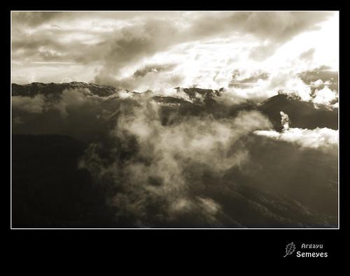 Un paseo por las nubes by Argayu !Si SE PUEDE¡