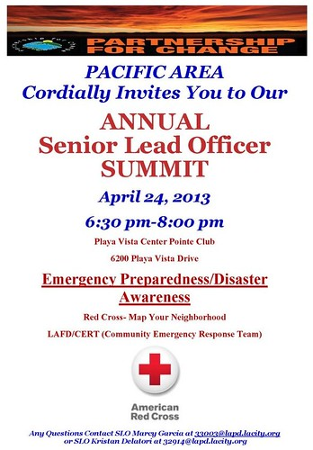 LAPD: Senior Lead Officer Summit 4-24-13