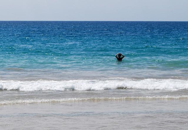 Chunlin in the Ocean