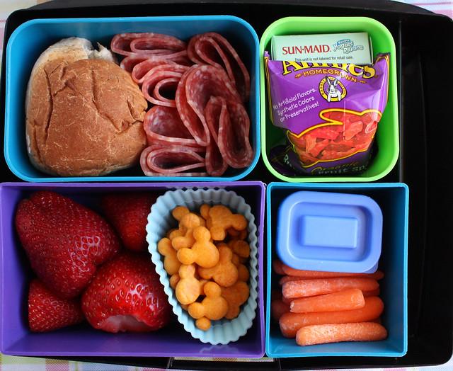 Big Kid Favorite Foods Bento #739