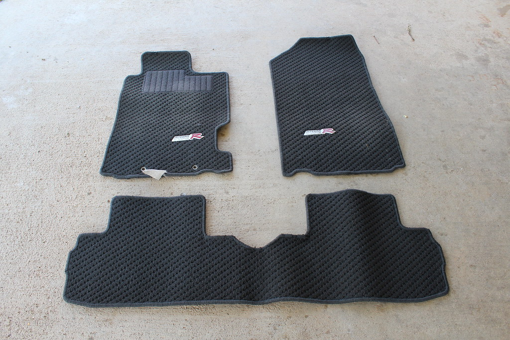 FS Black DC ITR Recaro Seats ITR Floor Mats And Door Panels - Acura rsx floor mats