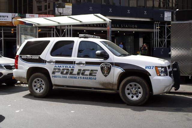 application for amtrak police