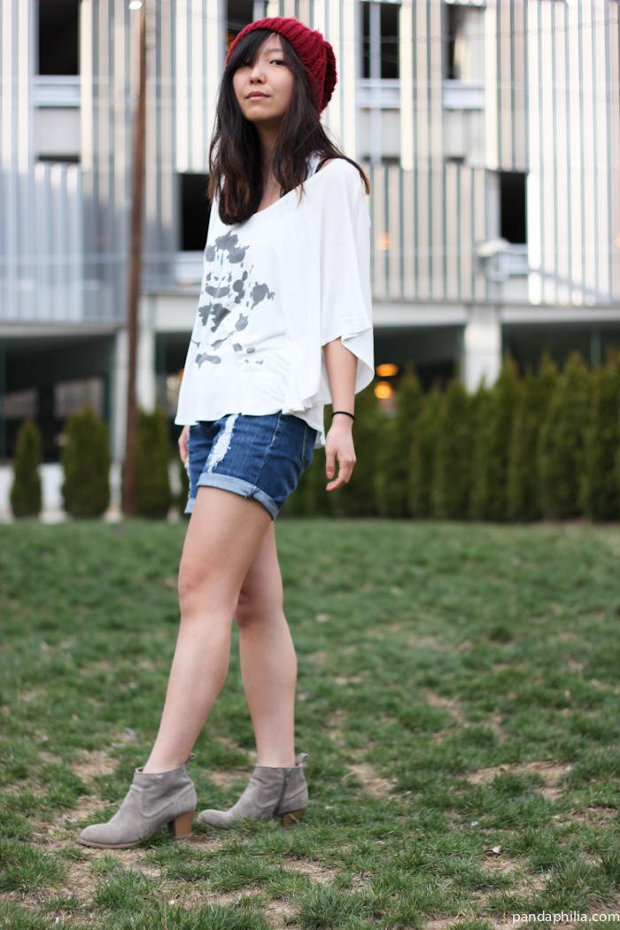 LA grunge outfit